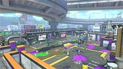 The Urchin Underpass course is inspired by the Turf War map from the Splatoon game.