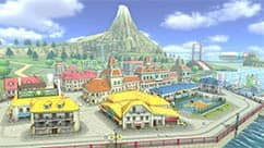 The 3DS Wuhu Town course takes place in the town from Wuhu Island.